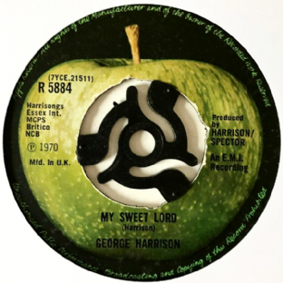 "George Harrison ‎- My Sweet Lord (7"") (F++/NM)"